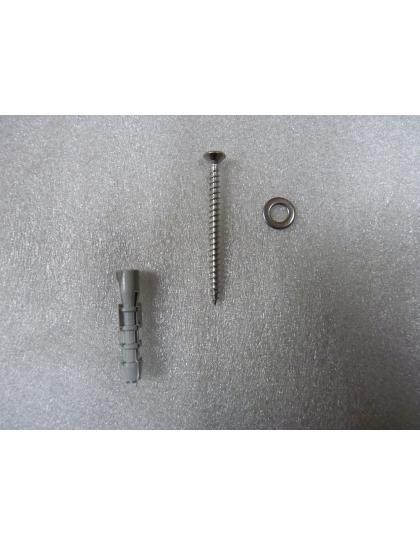 Set spojovacieho materiálu pre tepelnoizolačný materiál s hrúbkou do 2cm pre ochr. pás bez nitovania