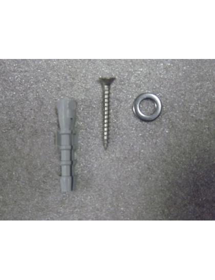 Set spojovacieho materiálu pre ochr. pás bez nitovania pre steny bez zateplenia